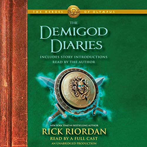 The Heroes of Olympus: The Demigod Diaries audiobook cover art