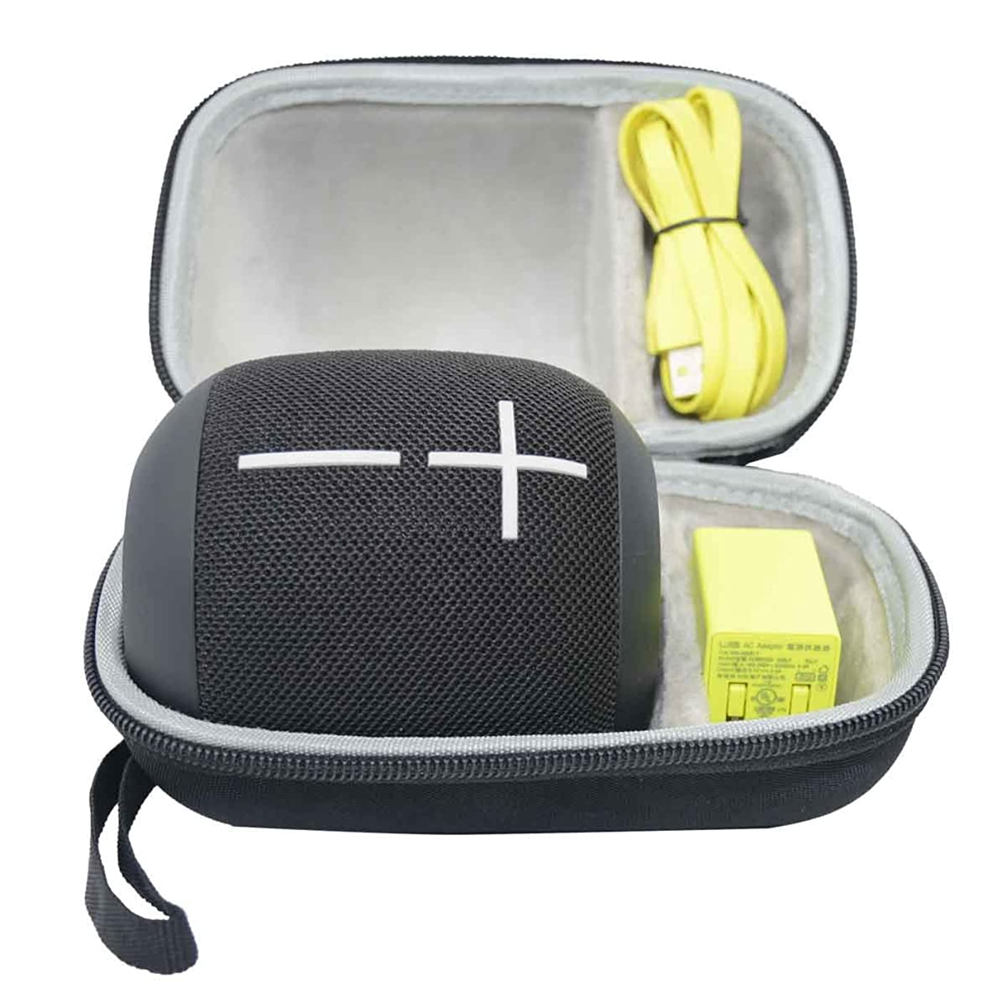 SANVSEN Hard EVA Case Travel Bag for Ultimate Ears UE WONDERBOOM IPX7 Waterproof Portable Bluetooth Speaker