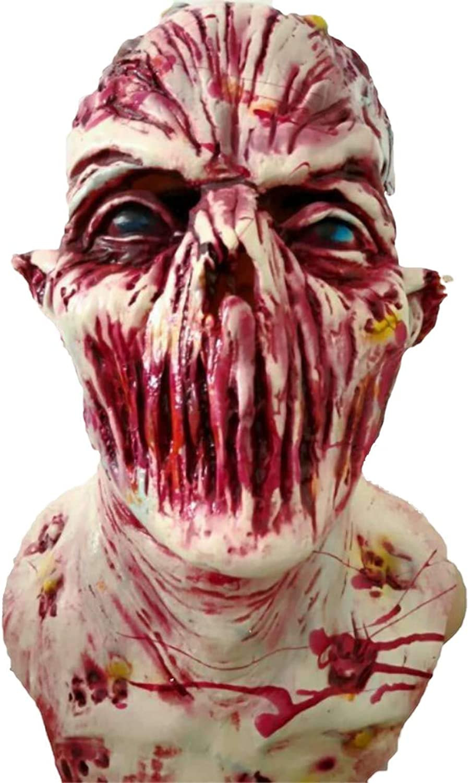 Humgoldus Mask Masquerade Prom Mask Halloween Adult Cos Latex Headgear Zombie Devil Haunted House Terrorist Props