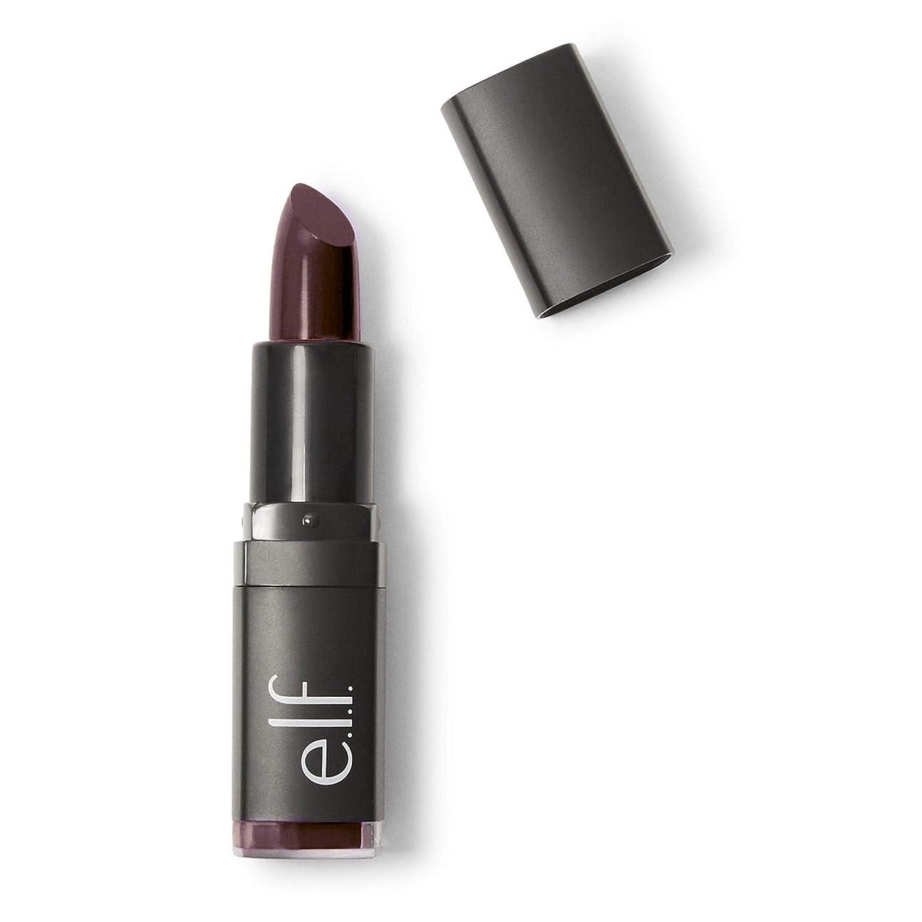 経験的レビューインカ帝国(6 Pack) e.l.f. Studio Moisturizing Lipstick - Black Berry (並行輸入品)
