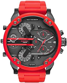 Diesel Casual Watch For Men Analog Silicone - DZ7370
