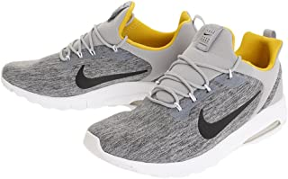 Men's Air Max Motion Racer Shoe Wolf Grey/Black-Vivid Sulfur