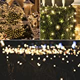 SALCAR 23m 360er LED Lichterkette Niedervolt wasserdichte dekorative Leuchten LED String Licht Wünderschöne Deko für Weihnachten, Hochzeit, Zuhause, Garten, Balkon, Terrasse - Warmweiß - 6