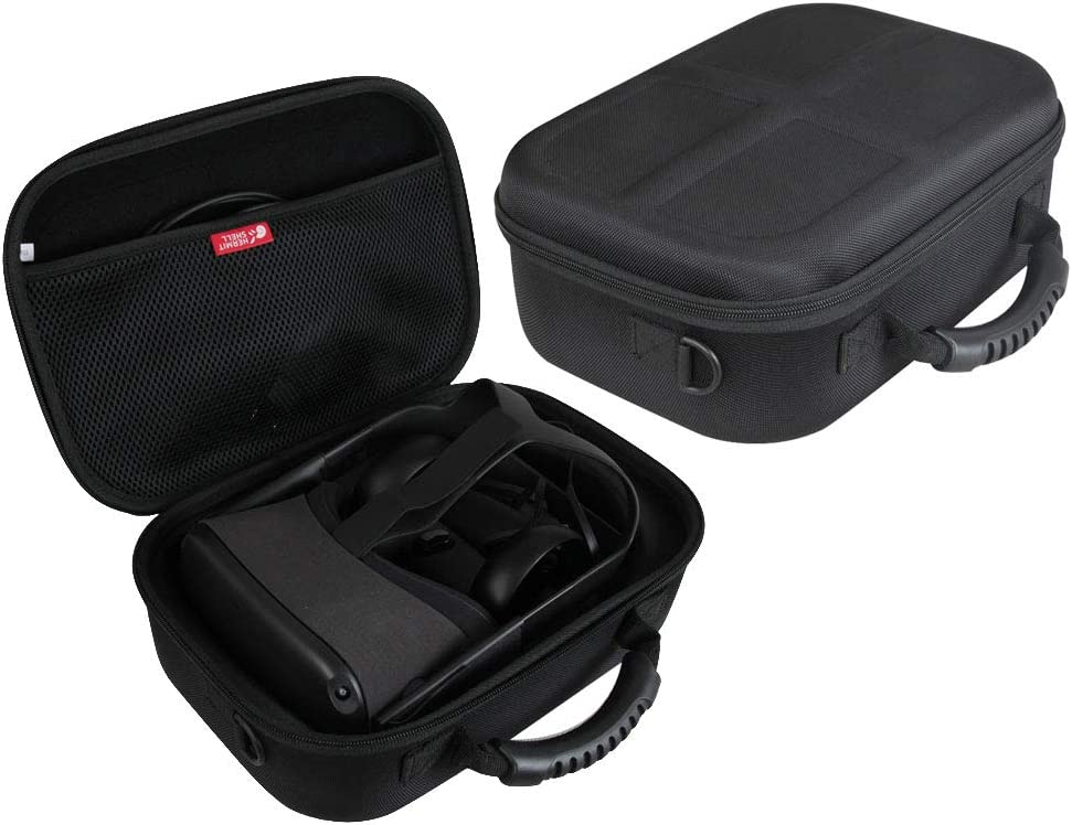 Hermitshell Hard EVA Travel Case for Oculus Quest 2 & Quest VR Gaming Headset (Black)