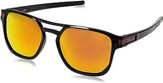 f015199f0c4c3 Óculos Oakley OO9436 943607 Preto Lente Vermelho Ruby Prizm Tam 54