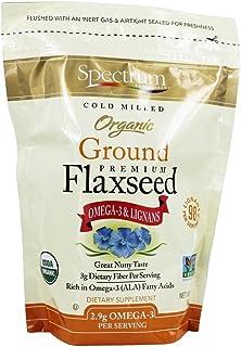 Spectrum Essentials - Organic Ground Premium Flaxseed - 14 oz (pack of 2)