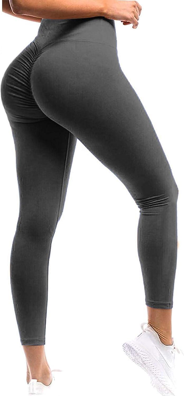 Girl in yoga pants twerking Seasum Women Scrunch Butt Leggings High Waisted Ruched Yoga Pants Workout Butt Lifting At Amazon Women S Clothing Store