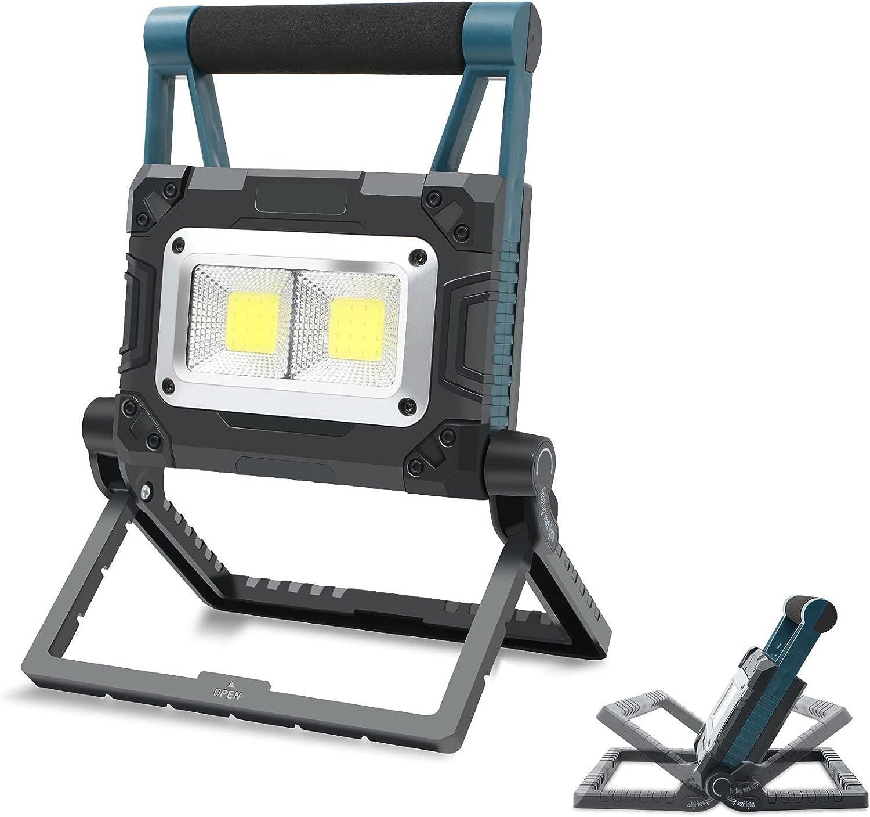LED Work Light 2 2021 new COB 2000LM Folding USB R Flood Portable specialty shop