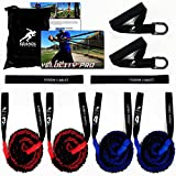 Kbands Fusion Cables Velocity Trainer (Baseball - Softball Resistance Arm Bands for Strength and Velocity) (Int/Adv 14 Years or Older)