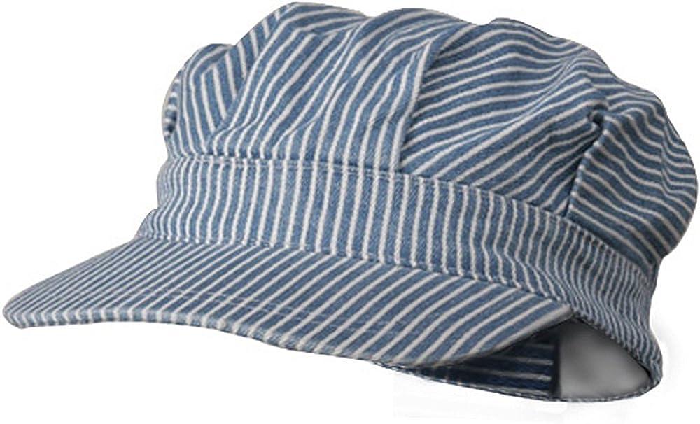 MG Conductor's Cap-Light Blue Stripe