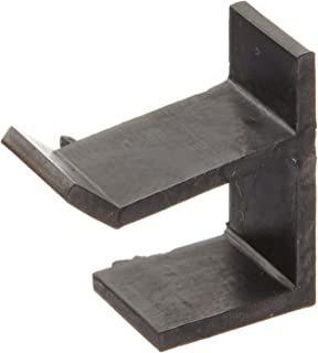 Prime-Line Products PL 7765 Top and Bottom Screen Frame Retainer Clip, Black Vinyl, 4-Pack