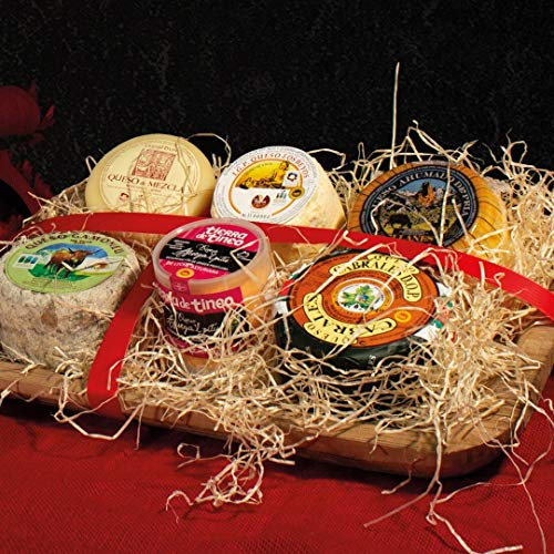 Lote de Navidad amantes de los quesos Asturianos artesanales Gorrión