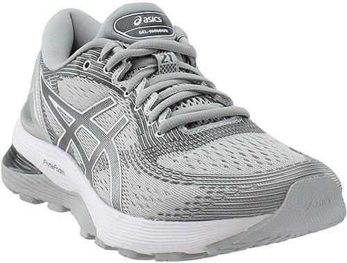 ASICS - Chaussures Gel-Nimbus 21 (D) pour Femmes, 37.5 C D EU, Mid gris argent