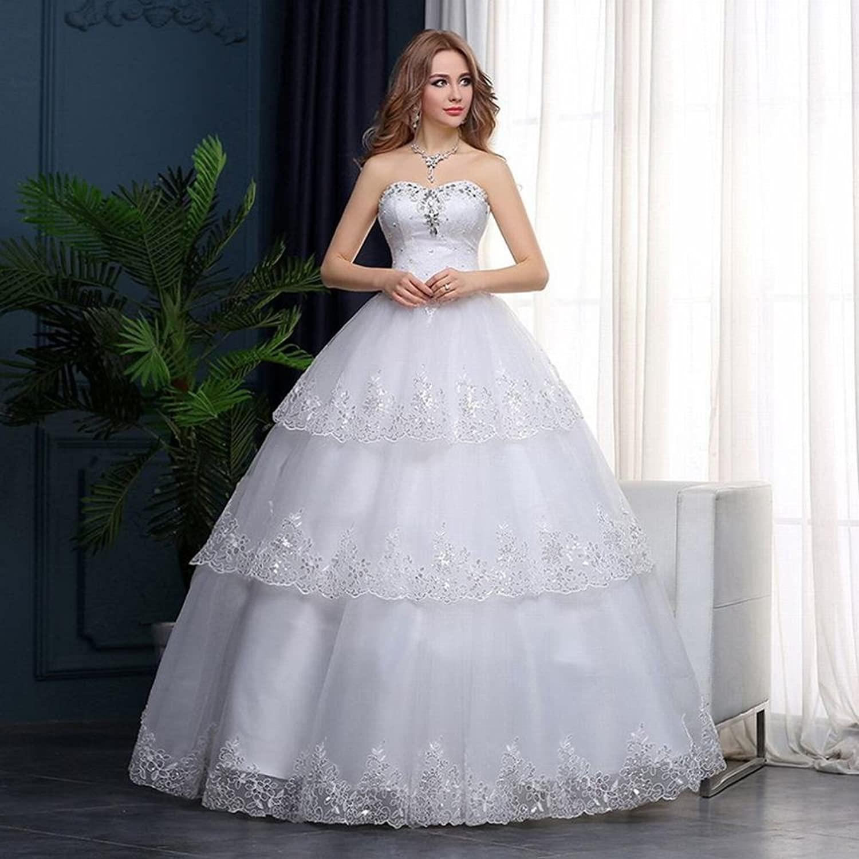 Simple Wedding Summer Bridal Diamond White tie Qi Qi Wedding Wedding Dress SLR