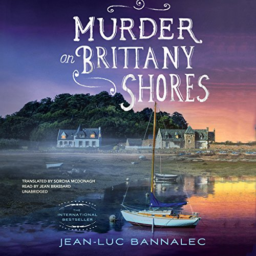 Murder on Brittany Shores audiobook cover art