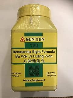 SUN TEN - REHMANNIA EIGHT FORMULA Ba Wei Di Huang Wan Concentrated Granules 100g 722 by Baicao