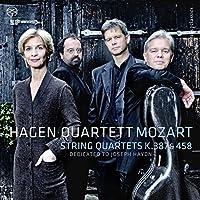Mozart: String Quartets, K.387 & 458 by Hagen Quartett
