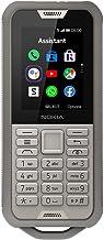 Nokia 800 Tough Feature Phone, Dual SIM, 512 MB RAM, 4G LTE, Sand