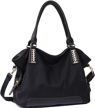 JOYSON Women Handbags Hobo PU Leather Purse Top-Handle Bags Tote Large Shoulder Handbags