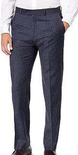 Tommy Hilfiger TH Flex Stretch Fit Flannel Plaid Wool Dress Pants