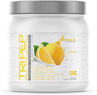Metabolic Nutrition - TRIPEP - Tri-Peptide Branch Chain Amino Acid, BCAA Powder, Pre Intra Post Workout Sup...