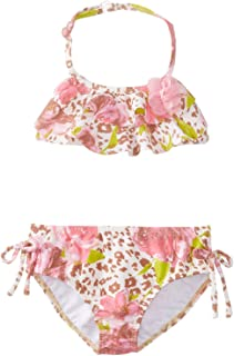 Kate Mack Baby Girls' On The Wild Side Bikini Swimsuit, Multi, 12 Months
