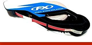 CaliBikerClub Reflective Red Rim Tape Rim Wheel Stripes w/Easy Applicator for 16
