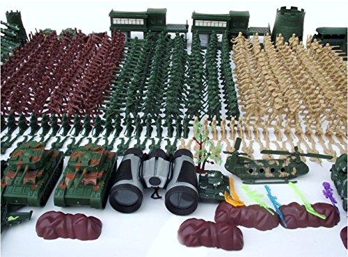610pcs 5CM Nostalgic Military Soldier Figure Playset Kids Toys
