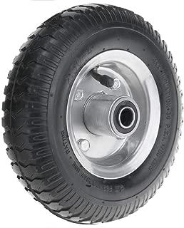 Roue Fixe de brouette pneumatique 2-Pack 90 Kg 8x2.5 203x64 mm pour charettes Chariots et Plates-Formes de Transport PrimeMatik