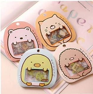PiniceCore 50pcs Cute Cartoon Kawaii del PVC Adesivi Bella Bear Cat Sticker per La Decorazione di Diario