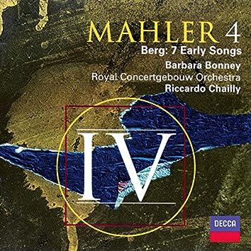 Mahler: Symphony No. 4 / Berg: Seven Early Songs