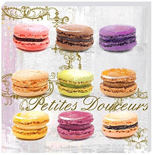 EMDE CH136001-1 Toile 9 Macarons, Multicolore
