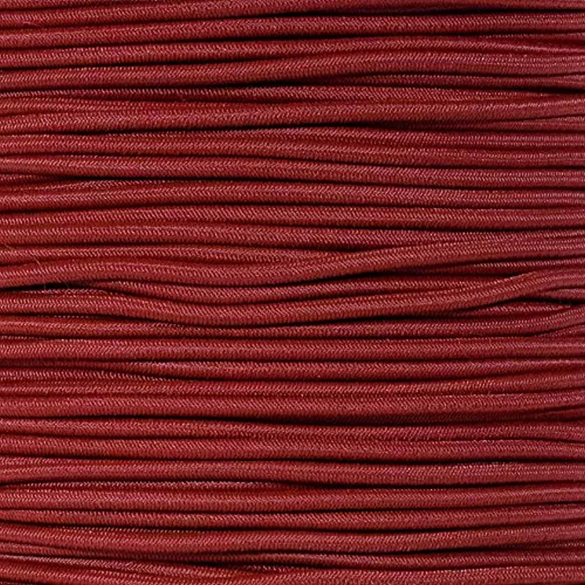 """1/8"""" Elastic Cord Beading Crafting Stretch String with Various Colors – Choose from 10, 25, 50, and 100 Feet, Made in USA"""