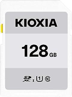 キオクシア(KIOXIA) 旧東芝メモリ SDXCカード 128GB UHS-I対応 Class10 (最大転送速度50MB/s) 日本製 国内正規品 3年保証 Amazon.co.jpモデル KTHN-NW128G