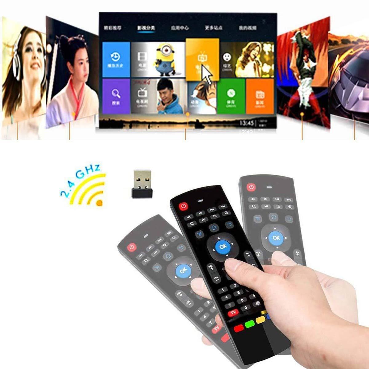 MX3 4 IN 1 Air Mouse Control Remoto inalámbrico para Android Box Smart TV PCLaptop: Amazon.es: Hogar