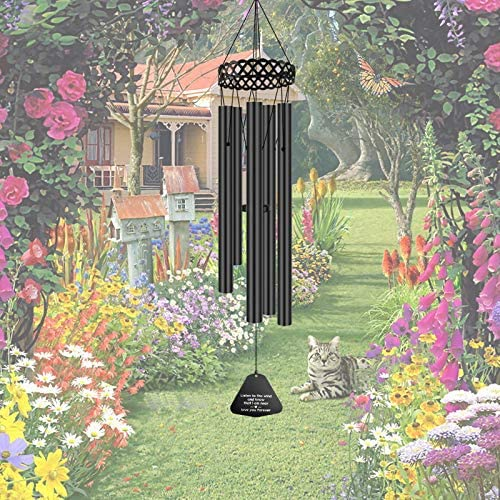 Memorial Wind Chimes for Outside Deep Tone 30 Windchimes Sympathy Gift Soothing Relaxing Melody product image