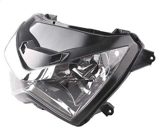 new arrival Mallofusa Motorcycle Headlight Headlamp Assembly sale Compatible for lowest Kawasaki Z800 Z250 2013 2014 outlet sale