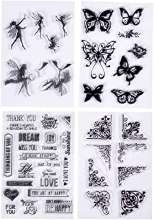 fairy stamps for scrapbooking