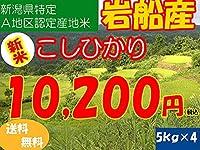 平成28年新潟県産特定産地米 (岩船産5㎏×4)