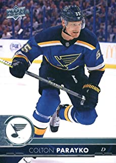2017-18 Upper Deck Series 2 #405 Colton Parayko St. Louis Blues Hockey Card