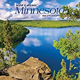Minnesota Wild & Scenic 2021 7 x 7 Inch Monthly Mini Wall Calendar, USA United States of America Midwest State Nature