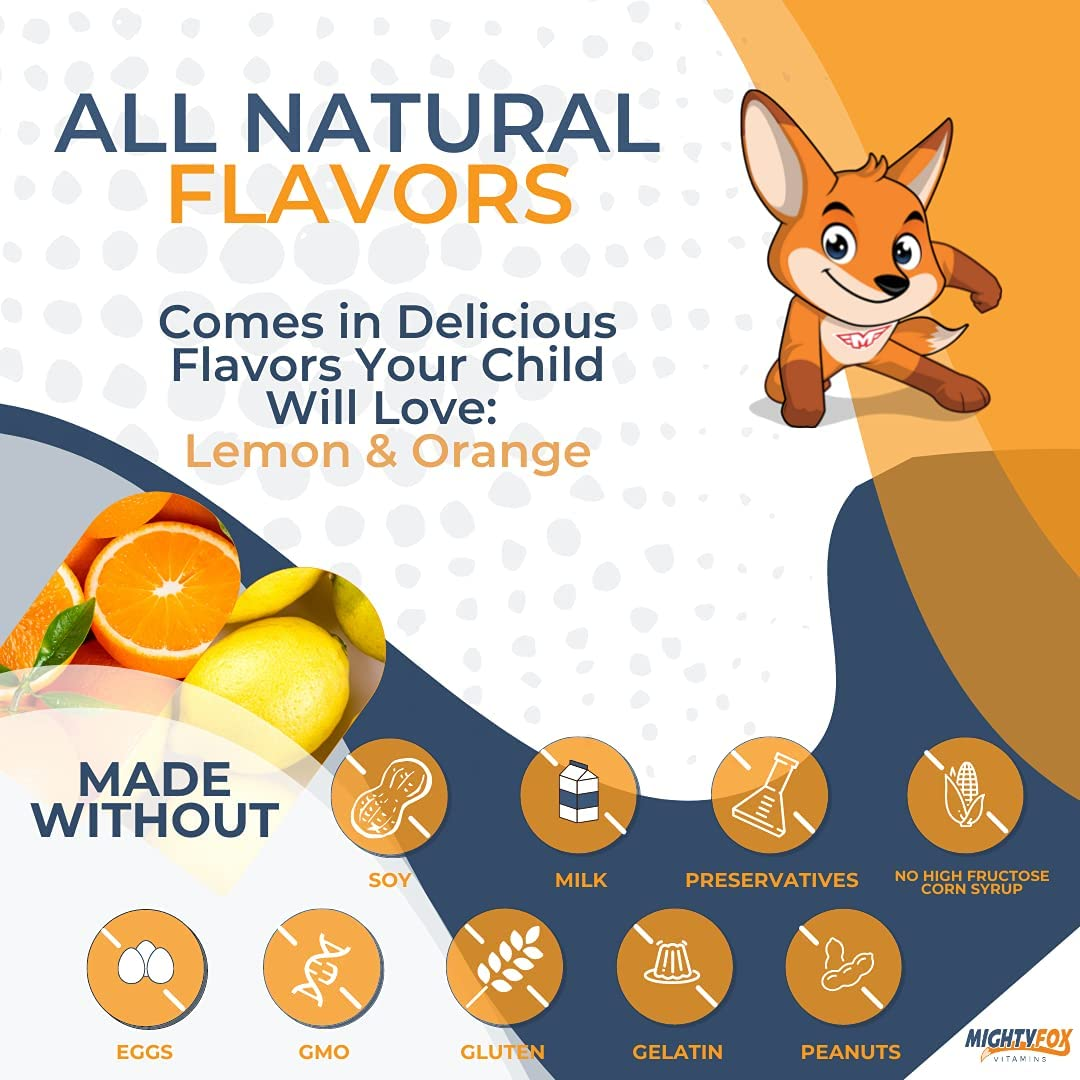 Vegan Omega 3 6 9 + DHA Gummies for Kids - with Vitamin C for Heart Health, Cognitive Development, Behavior and Vision - DHA Supplements