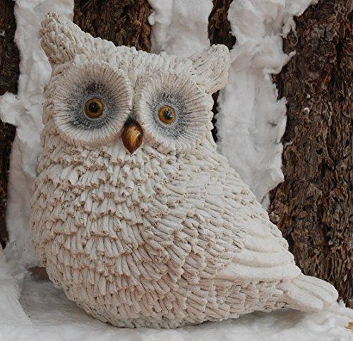 Décoration figure d'hiver chouette - noel, animal, scintiller