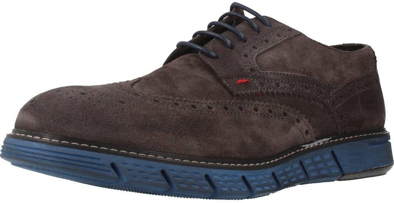 Chaussures de Ville, Couleur Marron, Marque Cafenoir, modèle Chaussures De Ville Cafenoir RP612 Derby Crosta Marron