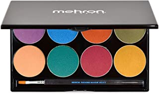 Mehron Makeup Paradise AQ Face & Body Paint 8 Color Palette (Nuance)