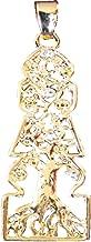 five element pagoda pendant