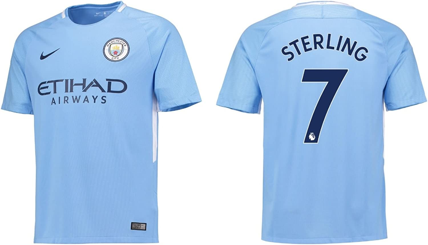 Trikot Manchester City 2017 2018 Home Sterling 7