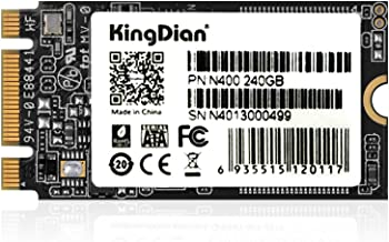KingDian M.2 NGFF 240GB SSD Solid State Drive 2242 2280 for Desktop PCs and MacPro (N400 240GB 2242mm)