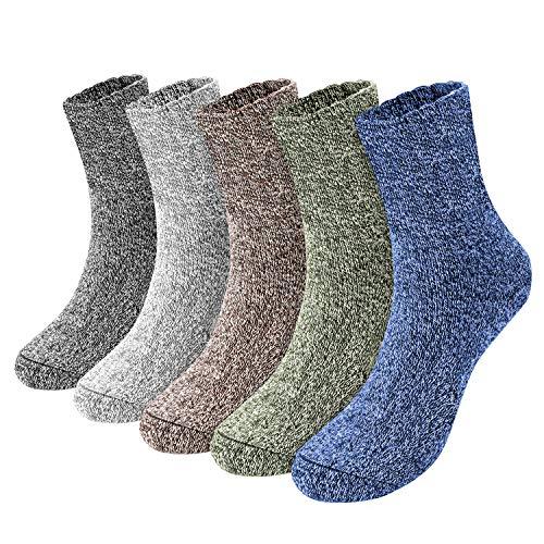 Emooqi Calcetines Para Hombre, 5 pares calcetines algodon