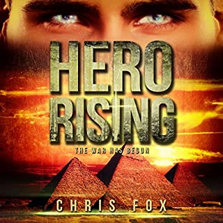 Hero Rising audiobook cover art